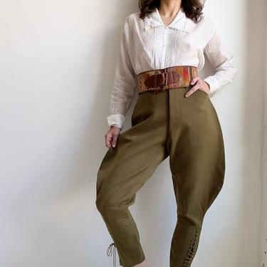 1940s US Army Officer Breeches by milkandice
