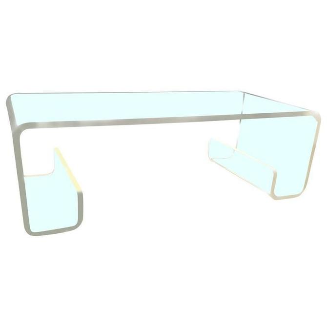 SOLD - Mid-Century Lucite Coffee Table