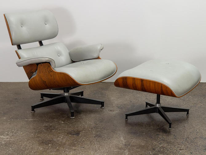 Eames 670 Lounge Chair and 671 Ottoman by openairmodern