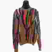 Sandro Orange Mohair Sweater