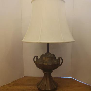 Brass Urn Table Lamp