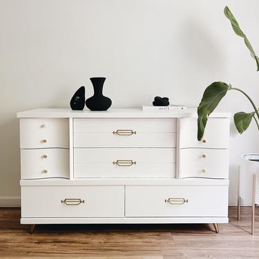 Pure White 8-Drawer Dresser by madenewdesignct