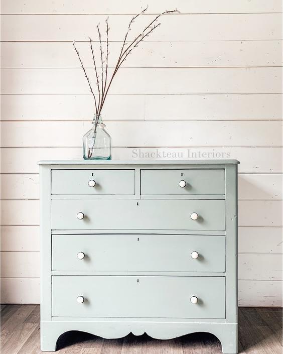 Vintage Seaglass Dresser