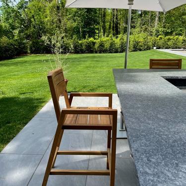 Outdoor Barstool / Counter stool by MarcoBogazziStore