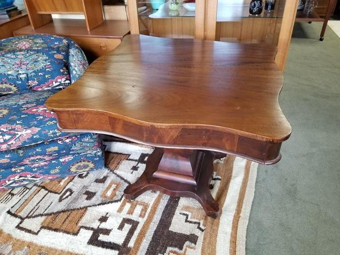 Antique game table or small dining table