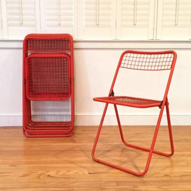 Strange Vintage Mid Century Modern Folding Patio Chairs From Gmtry Best Dining Table And Chair Ideas Images Gmtryco