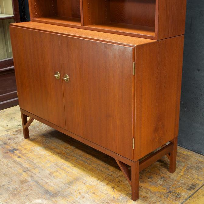 Borge Mogensen A232 Danish Teak Sideboard Credenza Cabinet FDB Mobler with Hutch Vintage Mid-Century Modern by BrainWashington