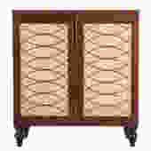 Mahogany Regency Style Side Cabinet