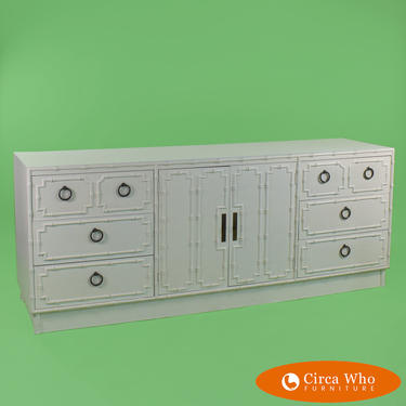 White Omega Triple Dresser