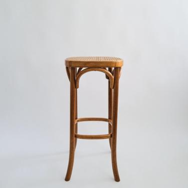 Vintage Thonet Style Bentwood Barstool by ShopLantanaLane