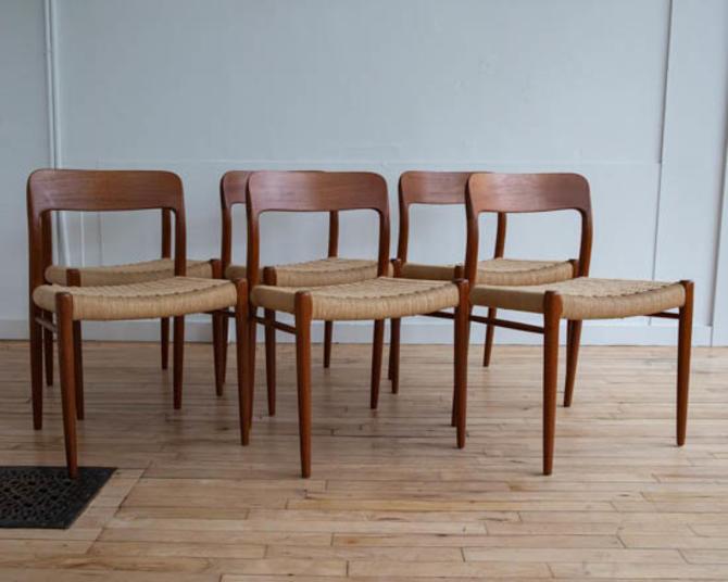 J L Moller Teak Dining Chairs