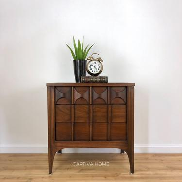 Kent Coffey Perspecta Nightstand, MCM Accent Table, Mid Century Modern End Table, Storage Cabinet, Vintage Furniture, Bedroom Set by CaptivaHomeDecor