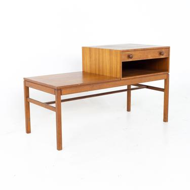 Mid Century Teak Coffee Table with Drawer - mcm by ModernHill