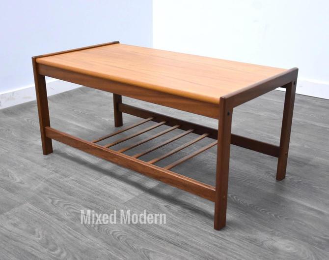 Danish Teak Petite Coffee Table by mixedmodern1