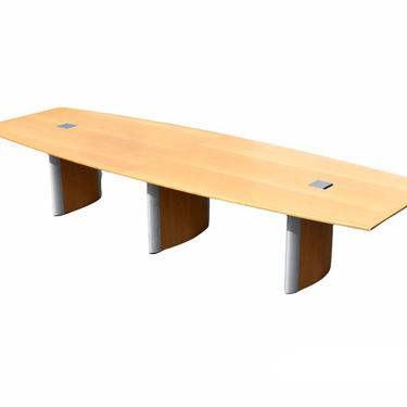 Large Birch Conference Table by mixedmodern1