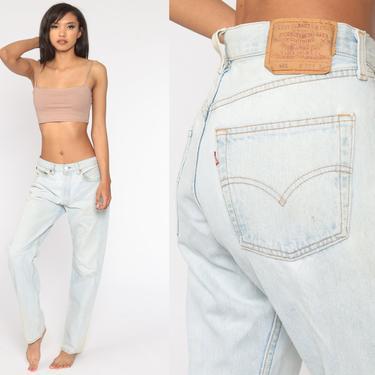 Levis 501 Jeans 32 x 32 -- Straight Leg Button Fly 80s Mom Jeans Denim Pants Mid Rise Waist Levi 90s Boyfriend Vintage Medium by ShopExile