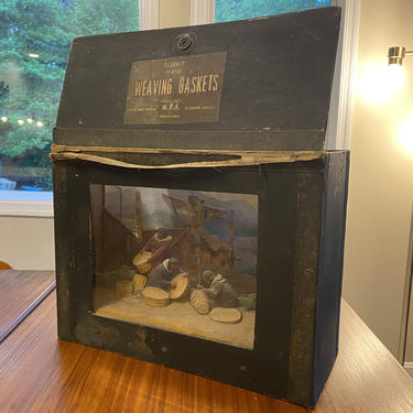 Rare 1930's WPA W.P.A. Diorama Museum Extension Project Phila. by MSGEngineering