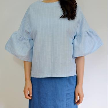 Linen oversize top by shopjoolee