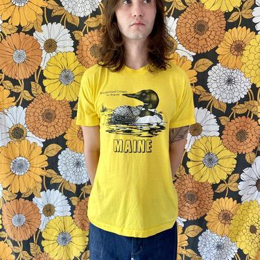 1989 Yellow Duck Maine Tee!