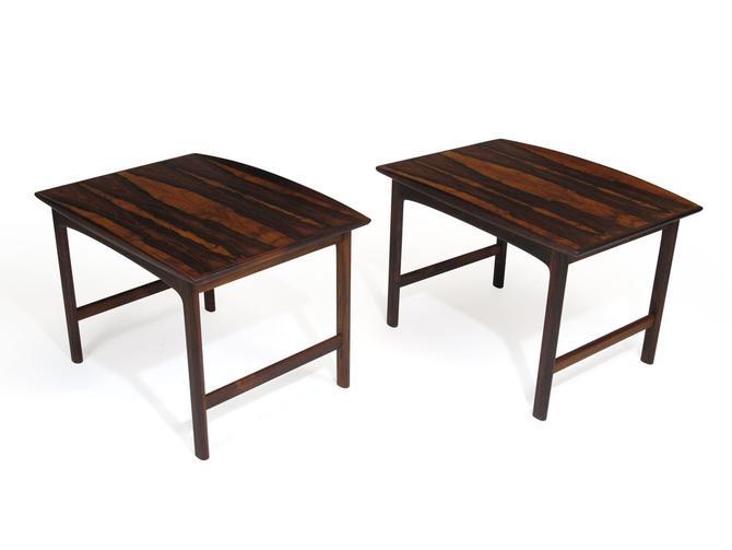 Folke Ohlsson Rosewood Side Tables