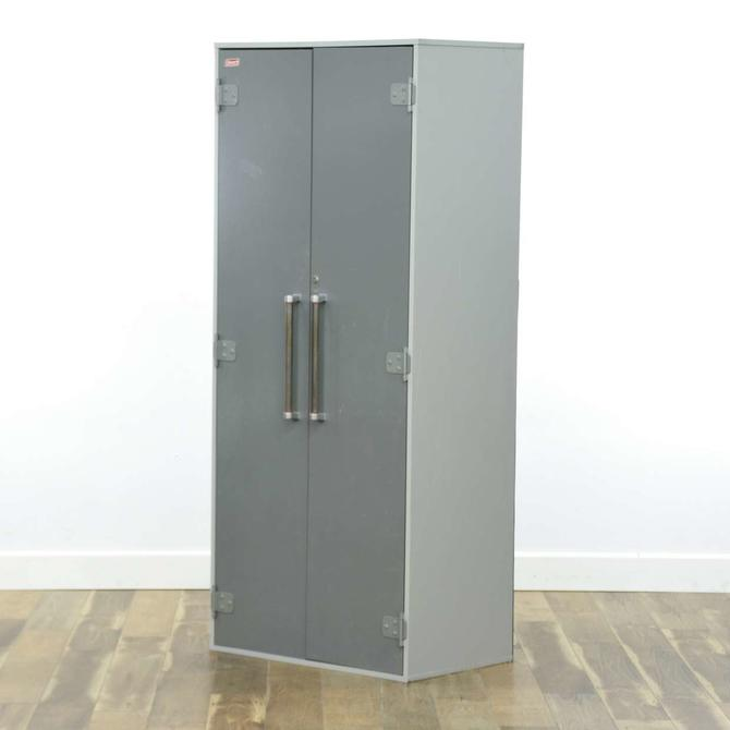 Coleman Grey Industrial Storage Cabinet