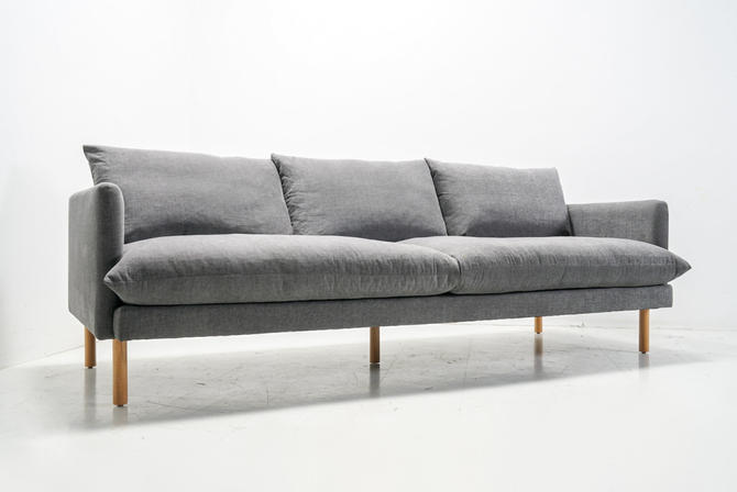 Mid Century Modern Feather Down Sofa by TDFurniture