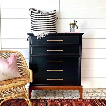 Vintage Mid-Century Highboy/Dresser by VintageRoseHomeMiami