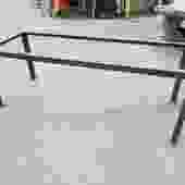 Welded Steel Coffee Table Base 46W x 17.5H x 17D