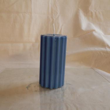 Reign Pillar Candle (colbat blue) by SkiinTones