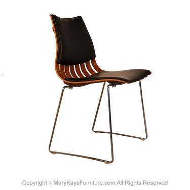 Hove Mobler Mid Century Hans Brattrud Teak Padded Scandia Chair by Marykaysfurniture
