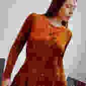Early 80s Betsey Johnson Punk Label Burnt Orange Tunic by ChessandtheSphinx