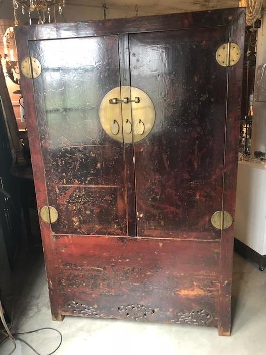 Antique Asian Cabinet