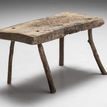 Spanish Oak Slab Table