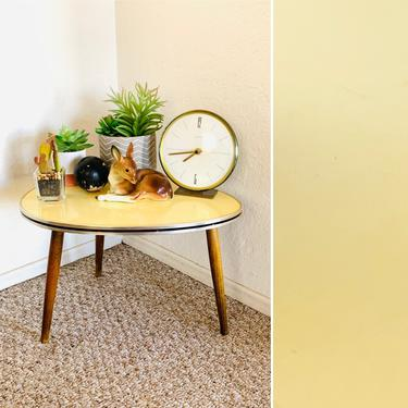 50s Pop Art Formica Side Table by dadacat