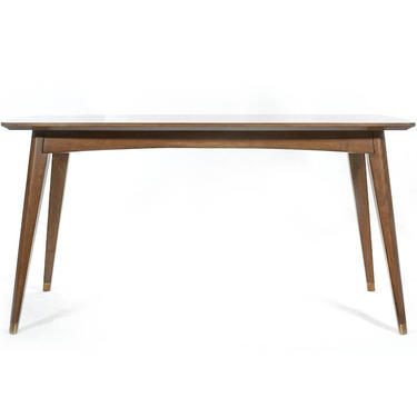 Walnut Mid Century Dining Table, Walnut Dining Table, Walnut Table  - Bella Collection - Ekais by Ekais