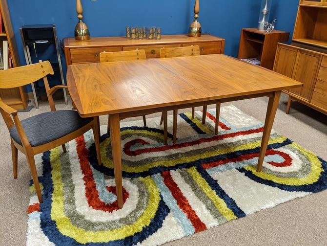 Mid-Century walnut dining table  from the Declaration collection by Drexel