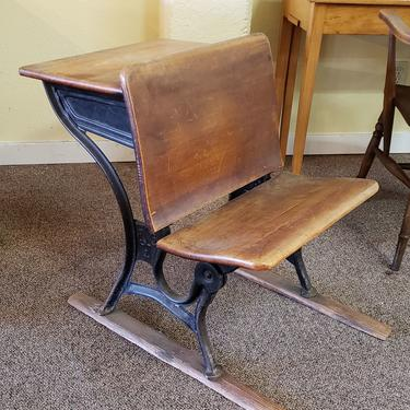 Item #CSGN66 Antique School Room Child's Desk c.1900