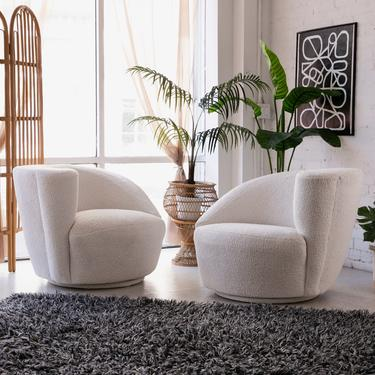 Cream Swivel Chair