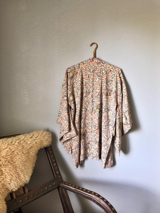 Vintage Silk Haori Jacket Kimono Style by SpeakVintageDC
