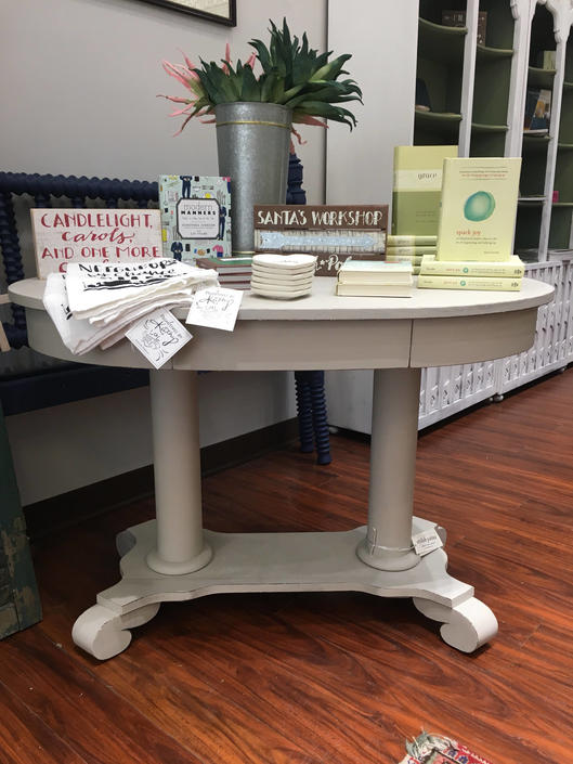 Augusta Antique Double Pedestal Table By Stylishpatina From Stylish Patina Attic