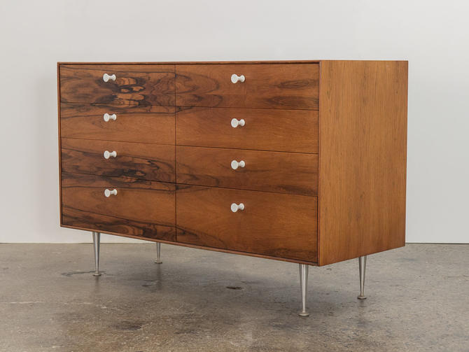 George Nelson Rosewood Thin Edge Double Dresser by openairmodern