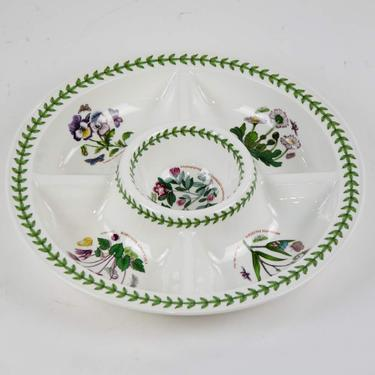 Botanic Garden Divided Serving Dish by Portmeirion by BluffStProps