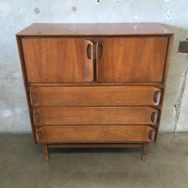 Mid Century High Boy Dresser