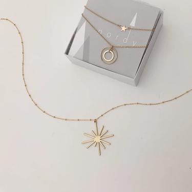 Britte Satelitte Starburst Necklace