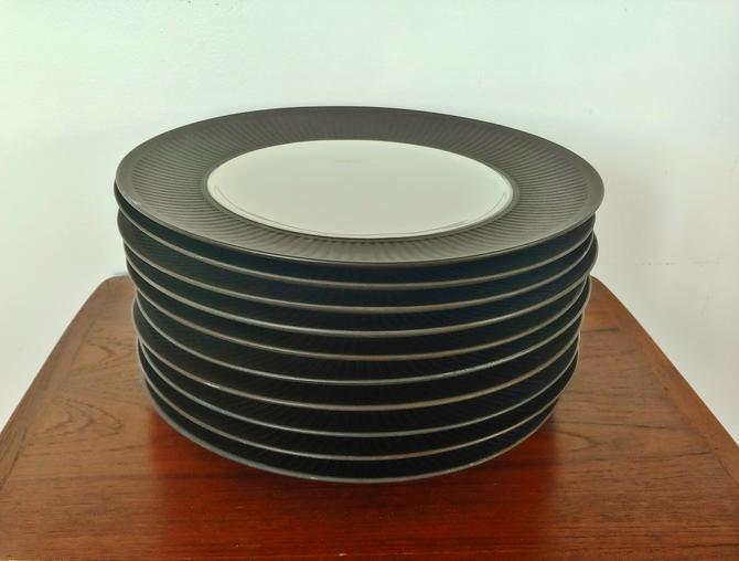 Vintage Dansk Flamestone Dinner Plates - Set of 10 by ModandOzzie