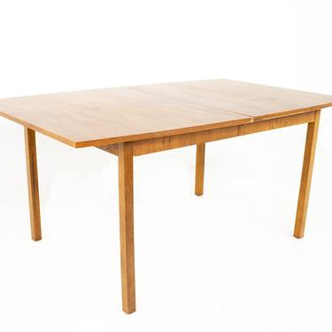 Bernhardt Furniture Mid Century Walnut Surfboard Dining Table - mcm by ModernHill