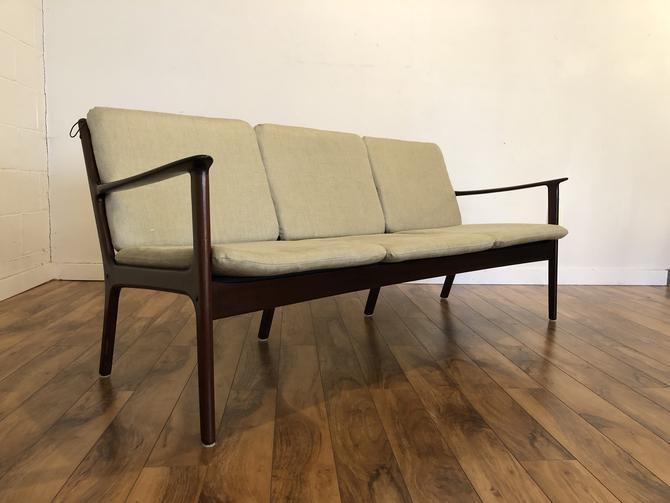 Ole Wanscher Poul Jeppesen Mid Century Sofa