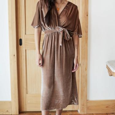 Lila Dress - Chestnut