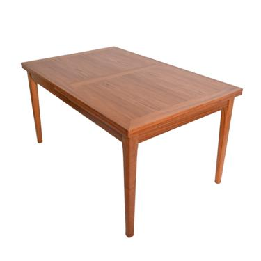 Large Teak Dining Table with Dutch Leaves Skovby Danish Modern Mid Century Modern by HearthsideHome