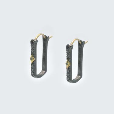 Paperclip Crivelli Hoop Earrings